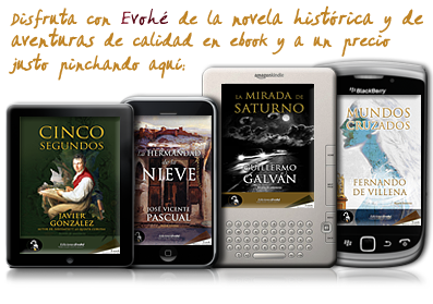 Ebooks novela hist&oacute;rica Ediciones Evoh&eacute;