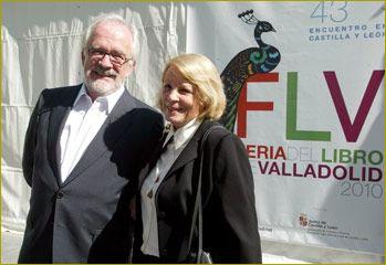 Pilar Garrido Cendoya y su marido Antonio Fraguas, Forges