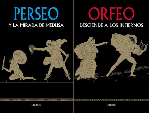 PERSEO Y LA MIRADA DE LA MEDUSA / ORFEO DESCIENDE A LOS INFIERNOS -Isabel Barceló