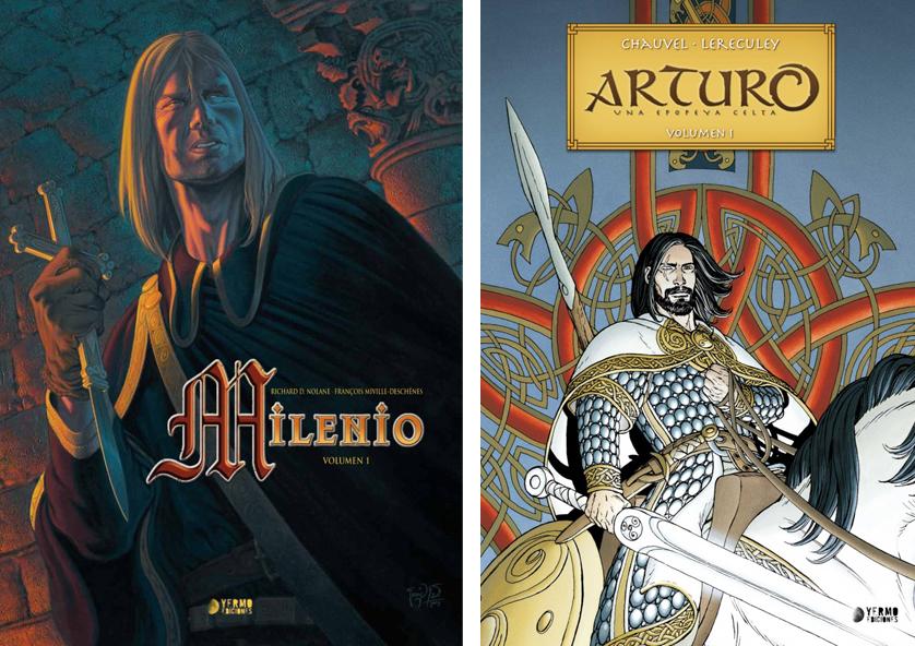 MILENIO - R. D. Nolane y F. Miville-Deschênes / ARTURO - D. Chauvel y J. Lereculey